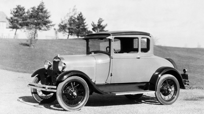 Ford Phaeton Type Model A. (Credit: Bettmann/Getty Images)