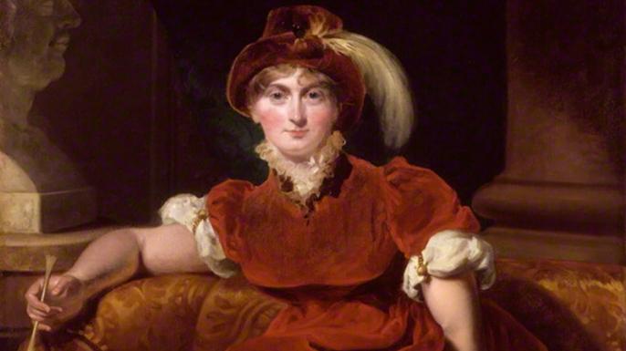 Caroline of Brunswick.