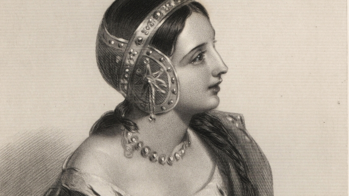 Queen Isabella of France. (Credit: Florilegius/Alamy Stock Photo)