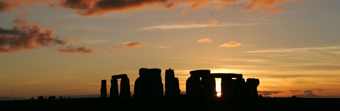 Stonehenge during sunset. (Credit: GP232/Getty Images)