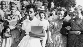 The Story Behind the Famous Little Rock Nine 'Scream Image'