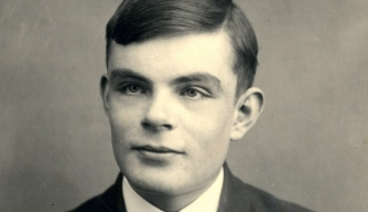 Portrait of Alan Turing. (Credit: Fine Art Images/Heritage Images/Getty Images)