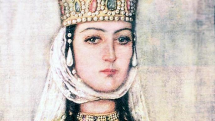 Queen Tamara of Georgia. (Credit: Paul Fearn/Alamy Stock Photo)