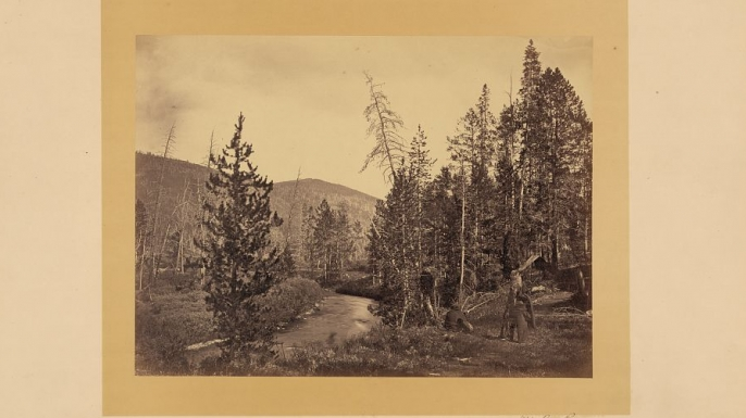 Upper Bear River, Utah, 1869. (Credit: The Library of Congress)