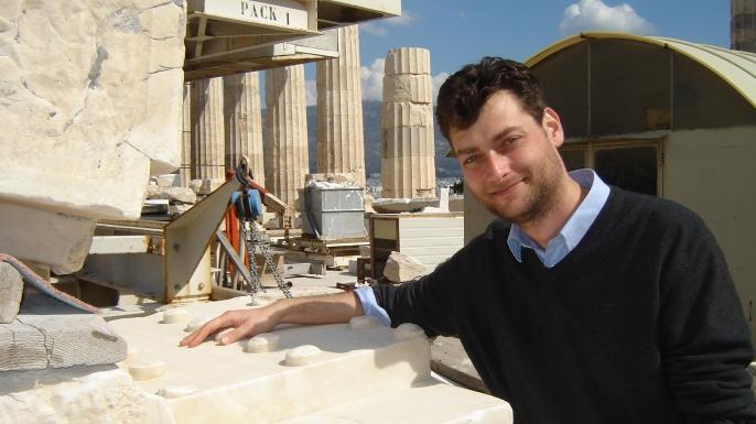 Dr. Christos Tsirogiannis on the Athens Acropolis