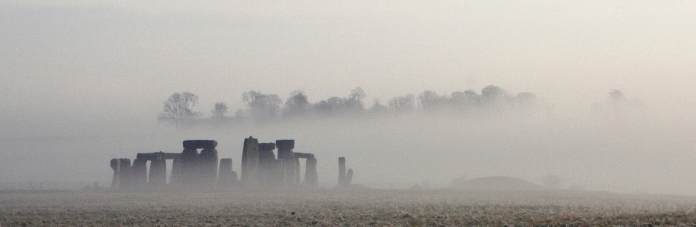 Celebration of the Winter Solstice in Stonehenge (Credit: Godong/Universal Images Group via Getty Images)
