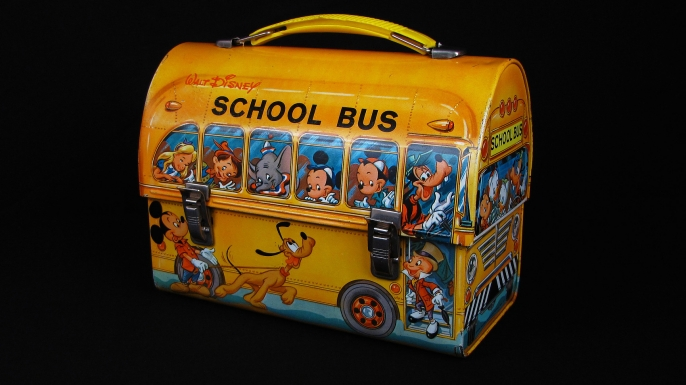 1961 Disney lunch box. (Credit: The Smithsonian Institute National Museum of American History)