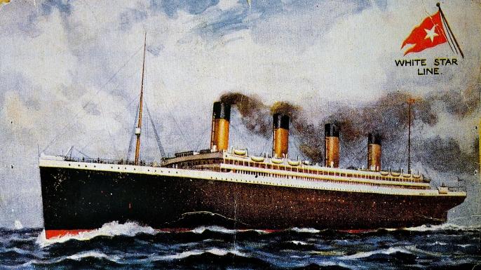 Titanic postcard, 1907. (Credit: World History Archive/Alamy Stock Photo)