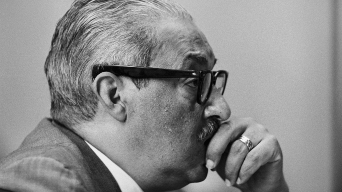 Thurgood Marshall. (Credit: Bettmann/Getty Images)