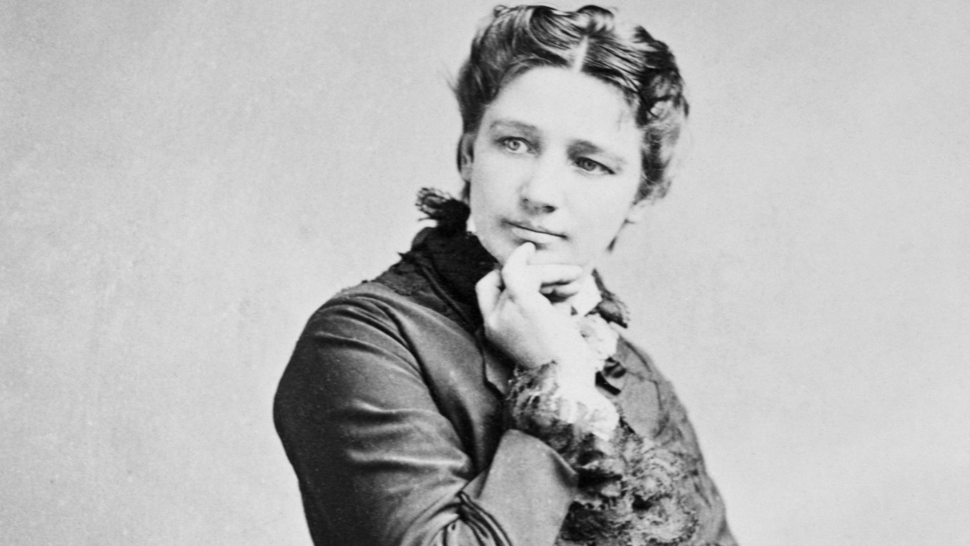 Victoria Claflin Woodhull, circa 1872. (Credit: Bettmann/Getty Images)