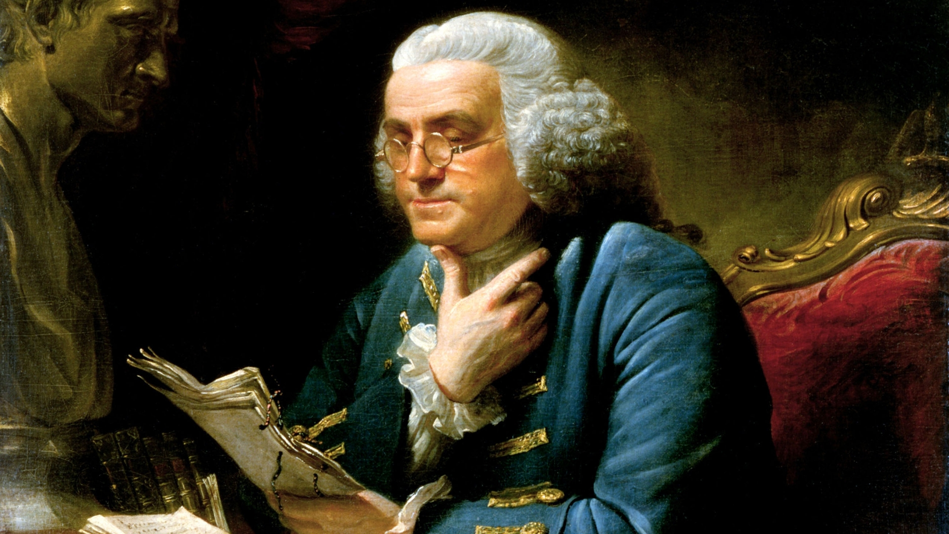 Benjamin Franklin. (Credit: FineArt/Alamy Stock Photo)