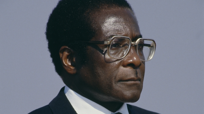 President of Zimbabwe Robert Mugabe. (Credit: Patrick Durand/Sygma via Getty Images)
