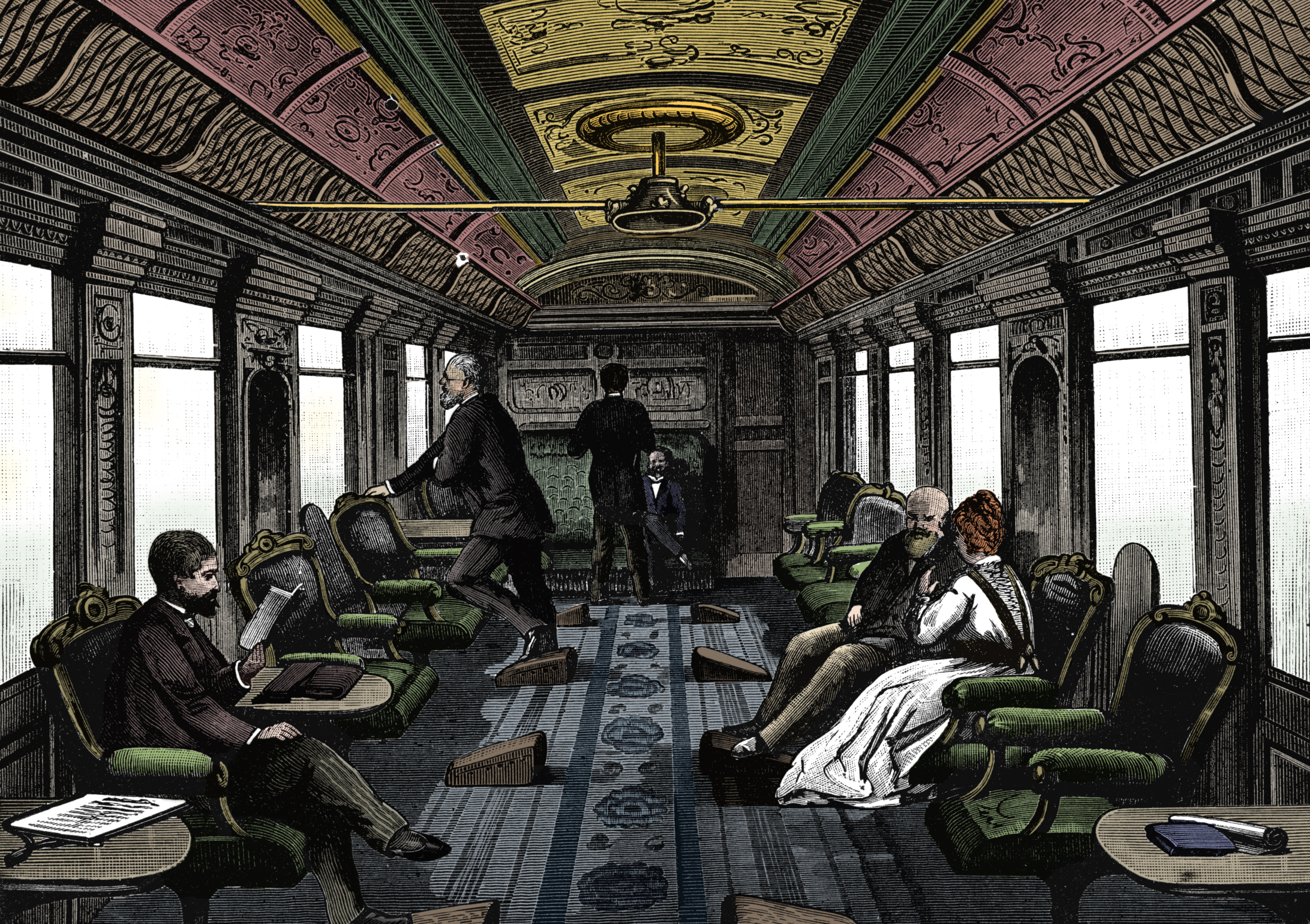 Clean Cars And Credit >> How the Orient Express Became the World's Most Glamorous Train - History in the Headlines