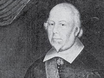 1533 portrait of Lord John Hussey, 1st Baron Hussey of Sleaford.