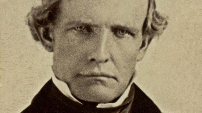 Peter Hardeman Burnett, circa 1860. (Credit: Paul Fearn/Alamy Stock Photo)