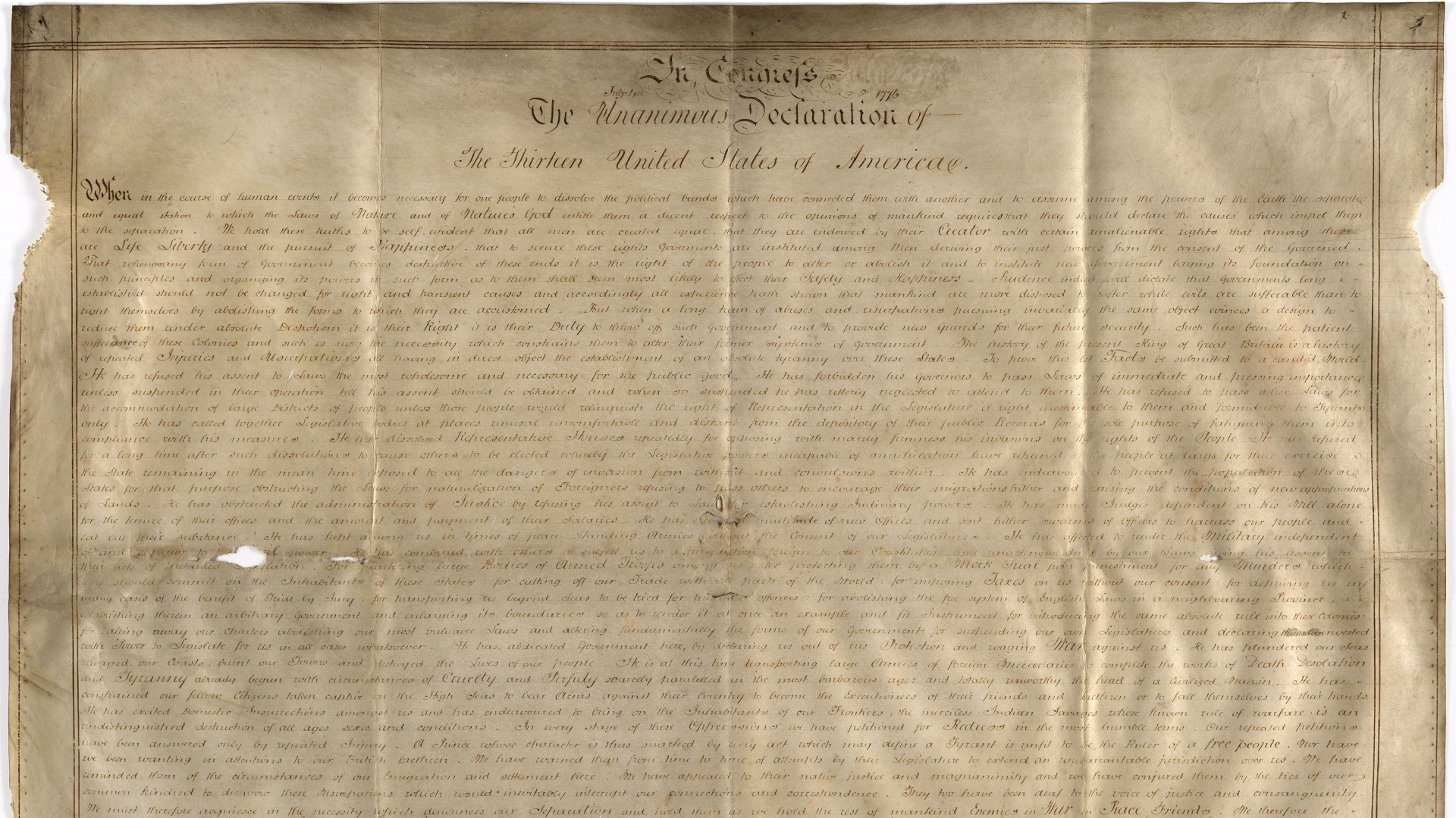 The Sussex Declaration. (Credit: West Sussex Add Mss 8981)