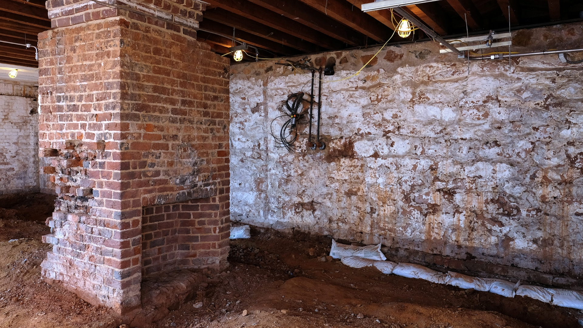 This room, part of the South Dependency of Monticello, is going to be restored as the residence of Sally Hemings. Monticello is currently working to more fully integrate the stories of the enslaved at the historic plantation. (Credit: Norm Shafer for The Washington Post via Getty Images).