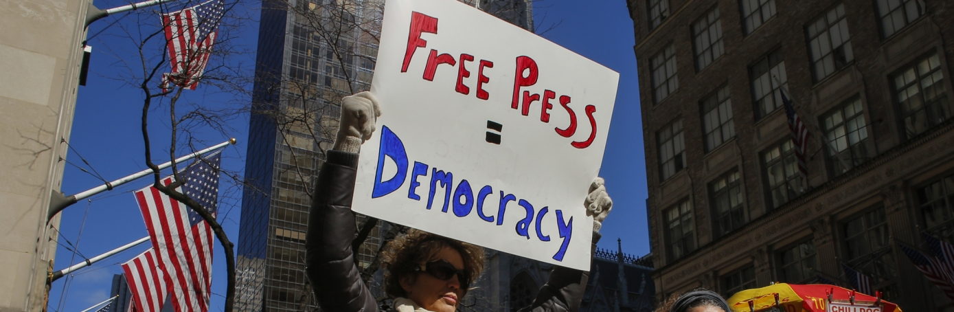 Free Press Protest in America