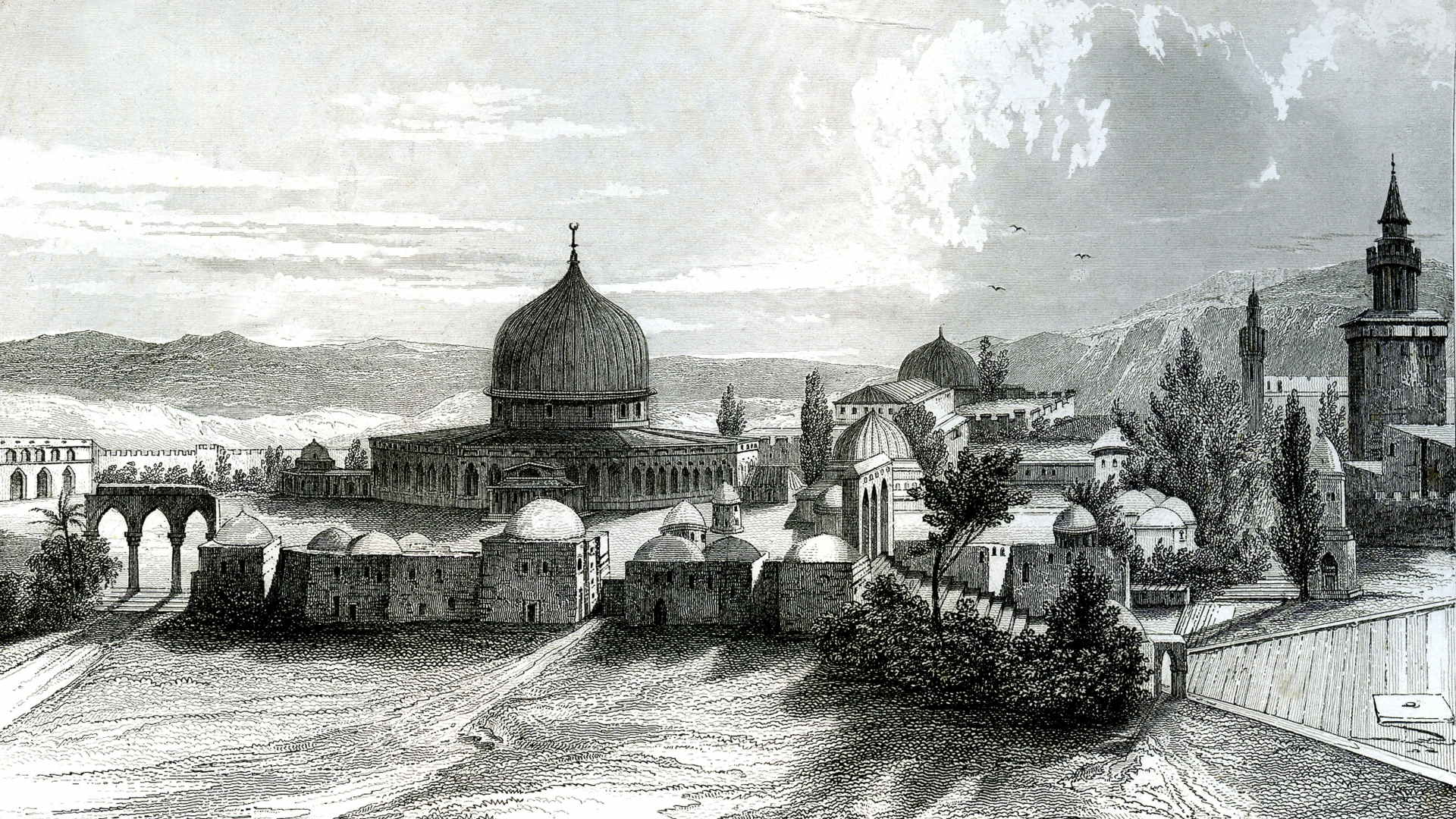 Jerusalem was one of the holiest places in the eastern Mediterranean—for Muslims, Christians and Jews alike. (Credit: Photo12/UIG/Getty Images)