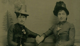 Two women in the 1890s. (Credit: PYMCA/UIG via Getty Images)