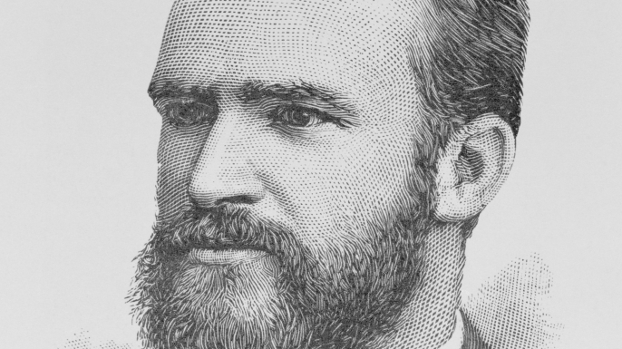 Known as the Father of Librarianship, Melvil Dewey was the inventor of the widely used Dewey Decimal classification system. (Credit: Bettmann Archive/Getty Images)