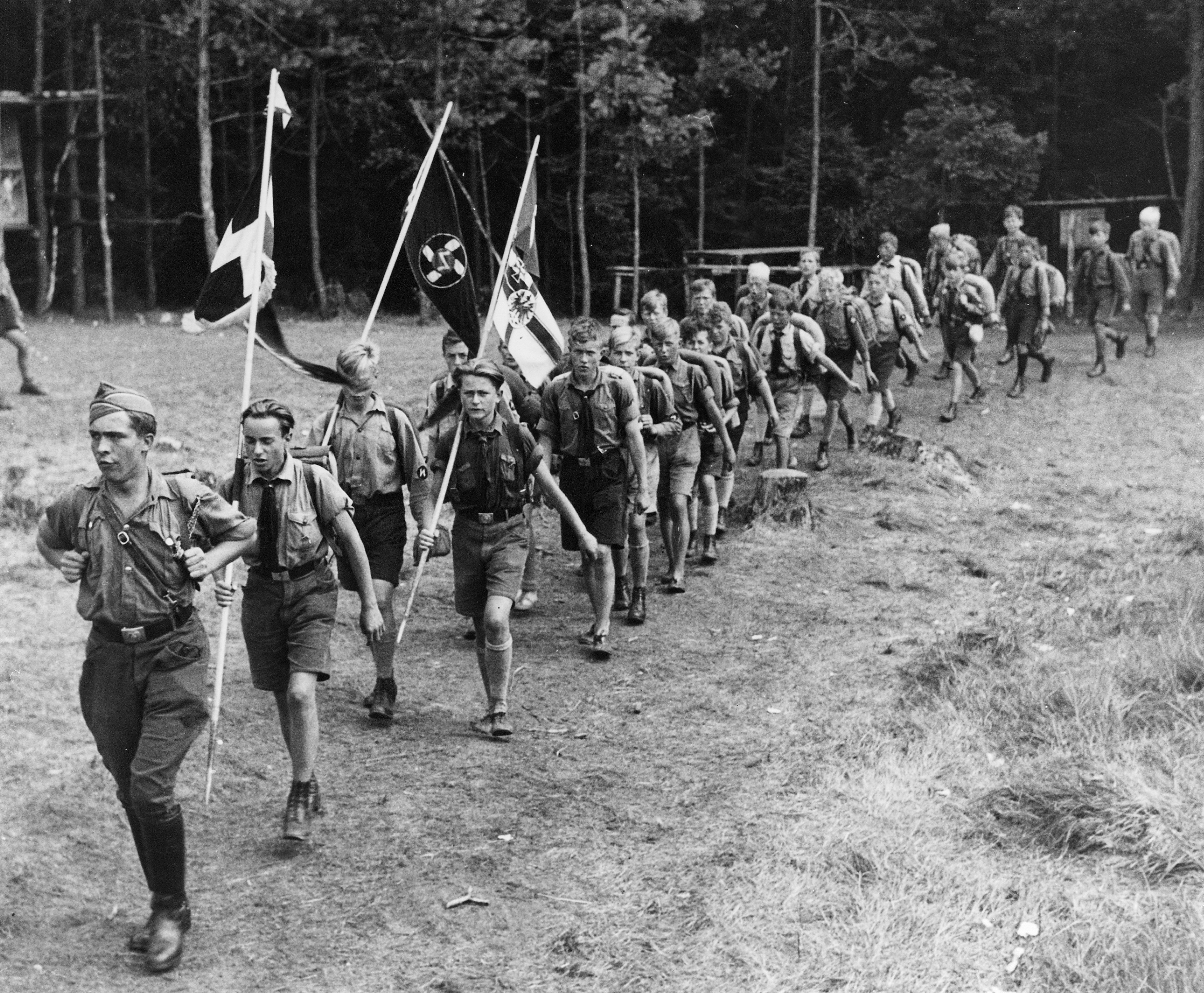 hitler and hitler youth In the early 1920s, the nazi party had established a youth movement to train them to become stormtroopers the group was renamed the hitler youth.