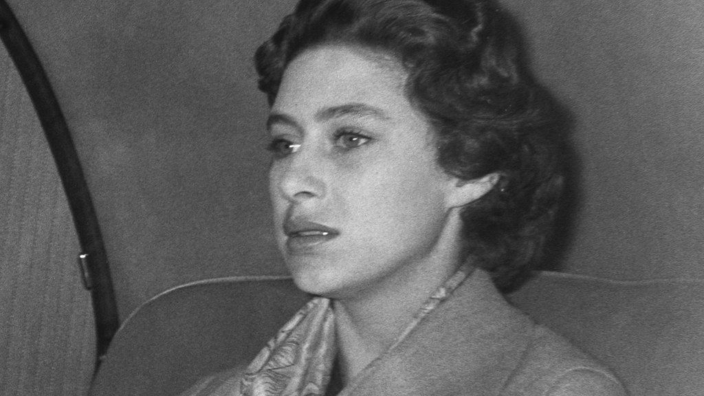 Princess Margaret, shortly before announcing that she would not marry Peter Townsend.
