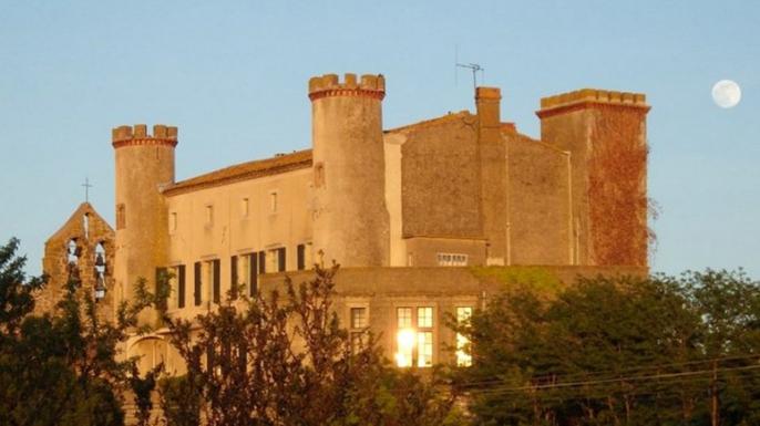 Château de Douzens, in the Corbières wine region. (Photo courtesy of GITES a la Française)