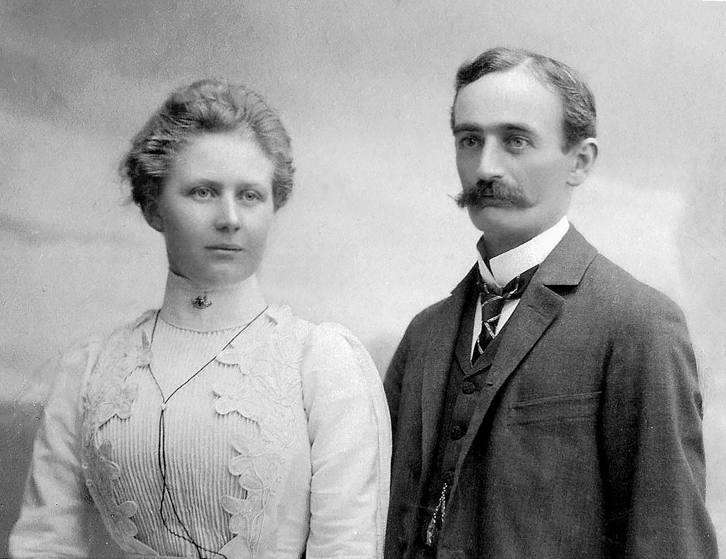 Friedrich and Elisabeth Trump. (Credit: Public Domain)