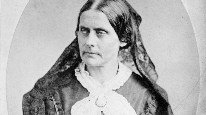 Susan B. Anthony, 1865. (Credit: Universal History Archive/UIG via Getty images)