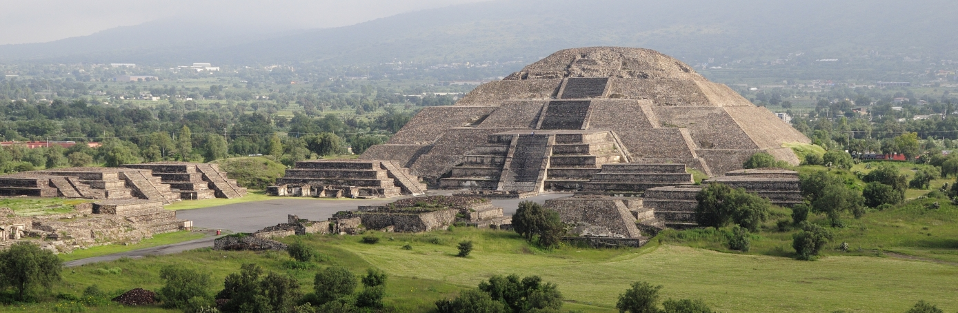 Teotihuacan, Mexico. (Credit: Eye Ubiquitous/UIG via Getty Images)