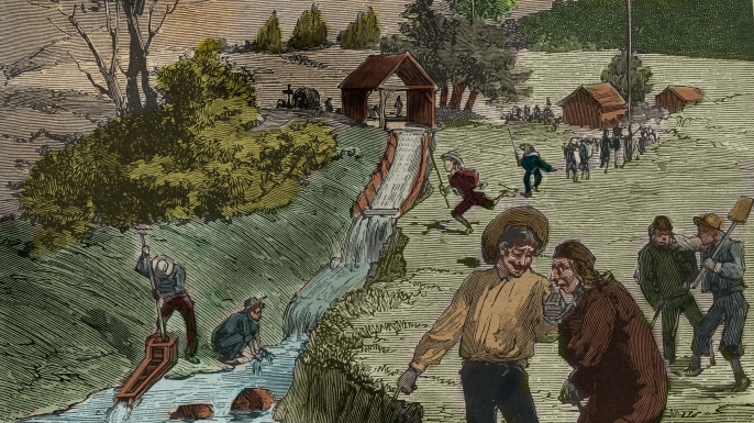 the impact of california gold rush on the native americans The westward movement of the immigrants in the united states caused a huge impact on native americans during the california gold rush.