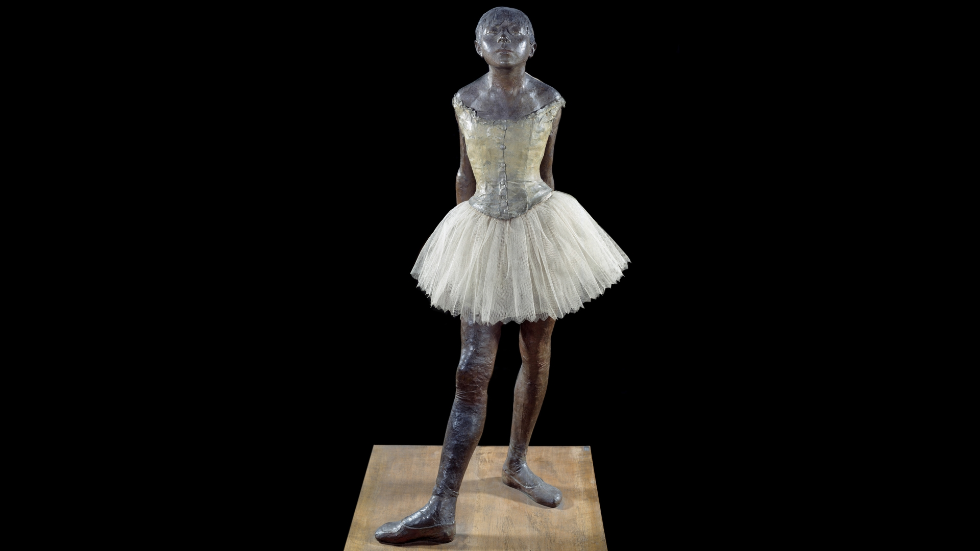 'Little Dancer of Fourteen Years' by Degas, 1881. (Credit: Leemage/Corbis via Getty Images)