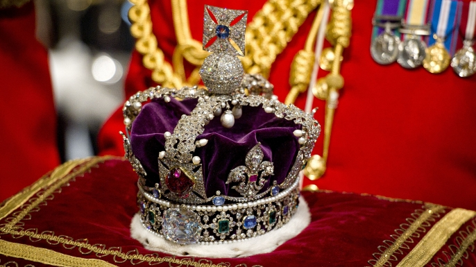 The Imperial State Crown. (Credit: Rex Features via AP Images)