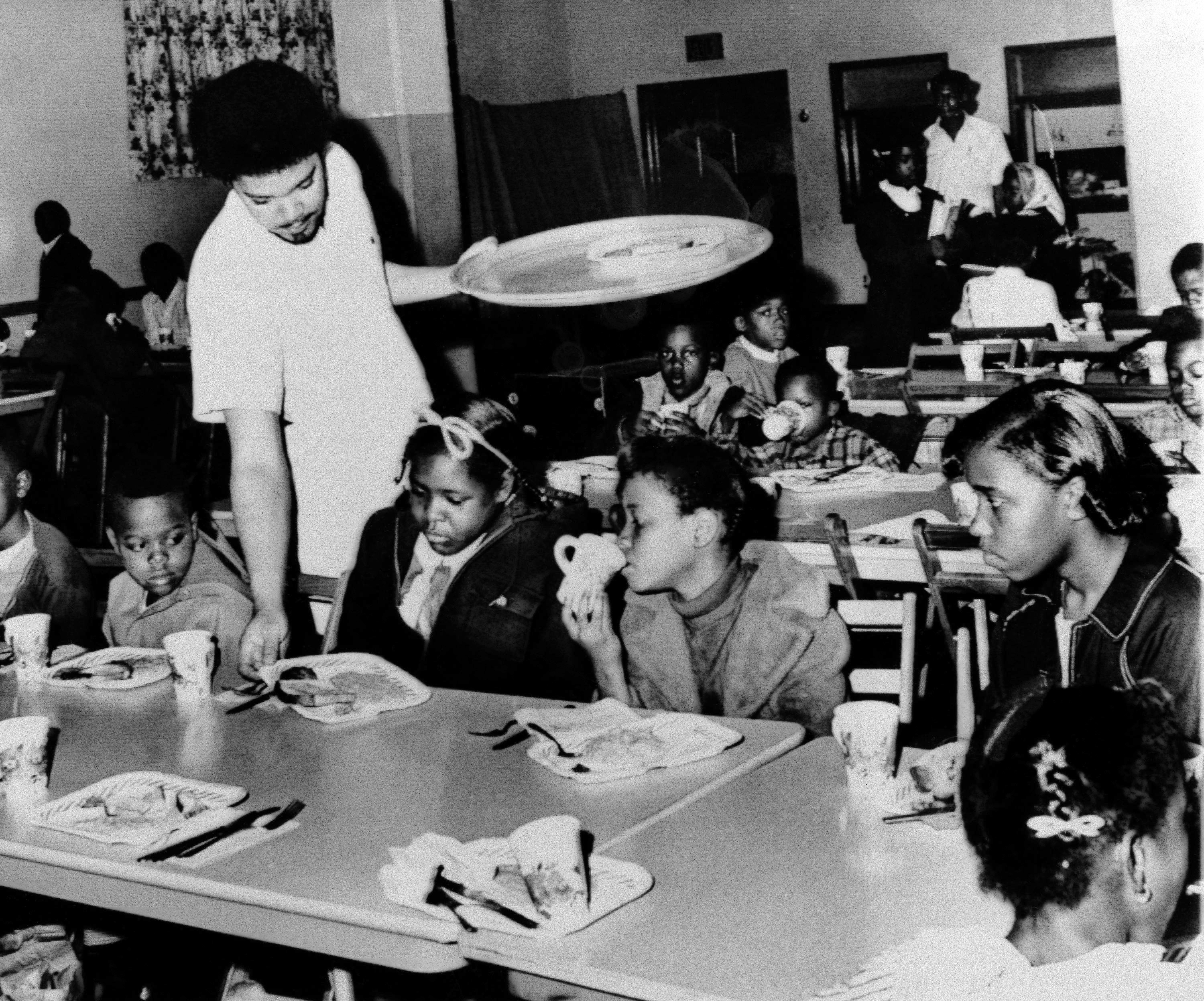 How The Black Panthers' Breakfast Program Both Inspired And