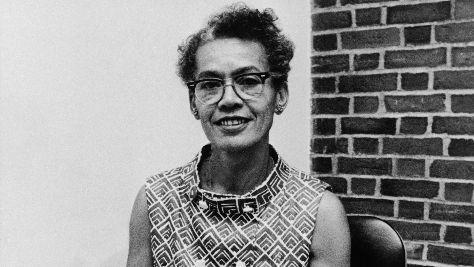Brandeis University professor Dr. Pauli Murray, 1970. (Credit: AP Photo)
