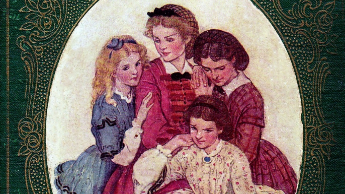 Little Women by Louisa May Alcott, 1869. (Credit: INTERFOTO/Alamy Stock Photo)