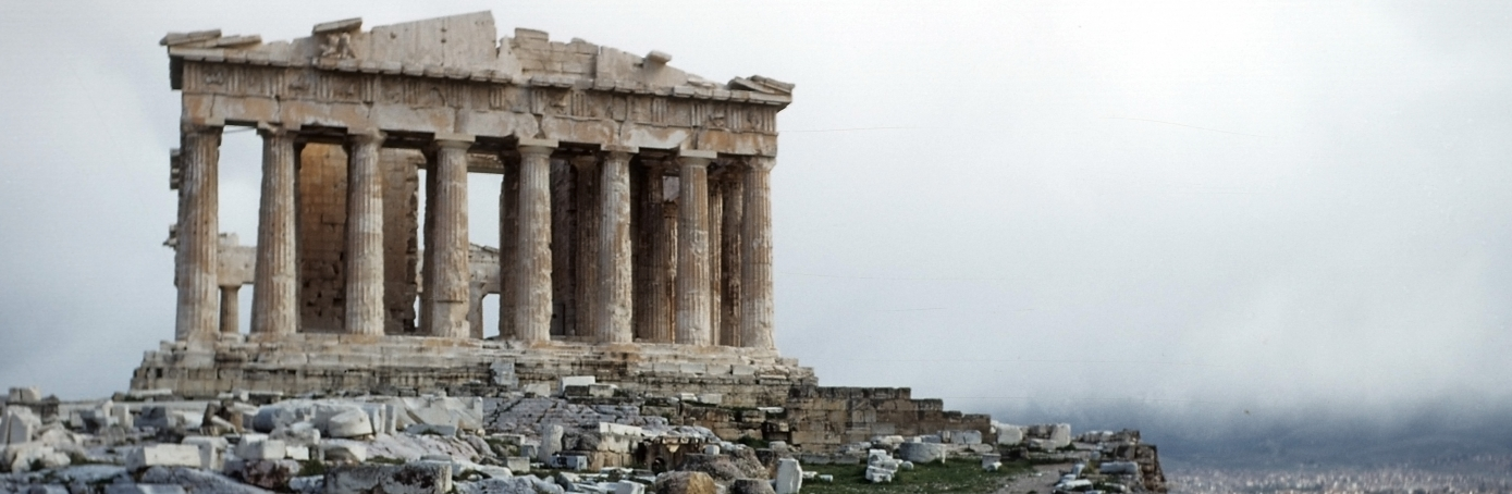A view of the Parthenon at the Acropolis in Athens,Greece. (Credit: Ivan Dmitri/Michael Ochs Archives/Getty Images)
