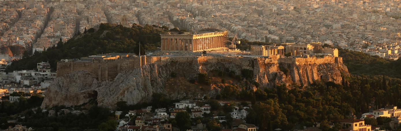 A view of the Acropolis Hill in Athens, Greece. (Credit: Christopher Furlong/Getty Images)