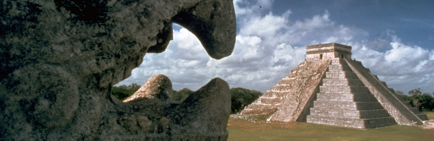 Mayan ruins of Chichen Itza built by Mayans in 6th century. (Credit: John Bryson/The LIFE Images Collection/Getty Images)