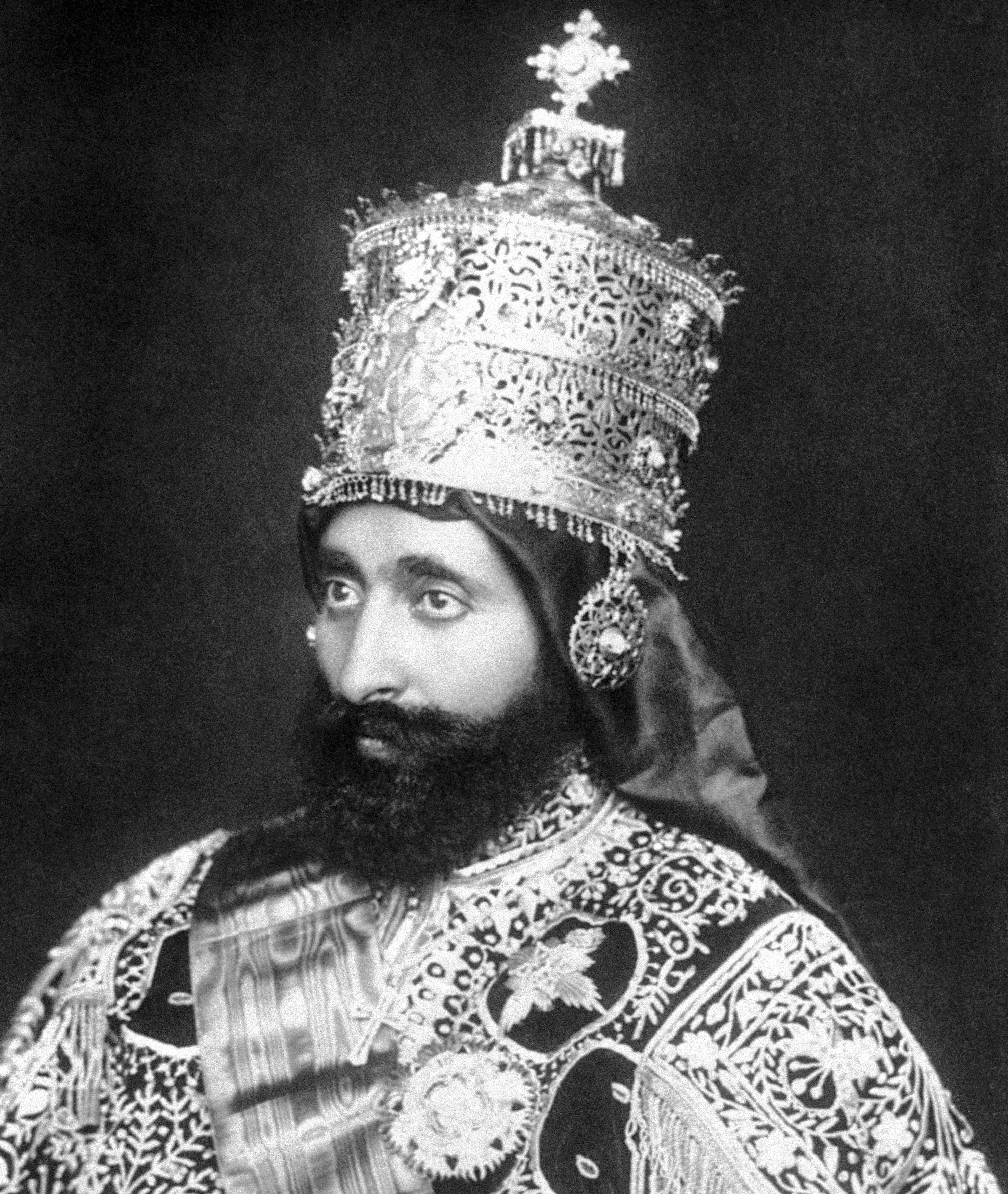Emperor Ras Tafari. (Credit: Bettmann Archive/Getty Images)