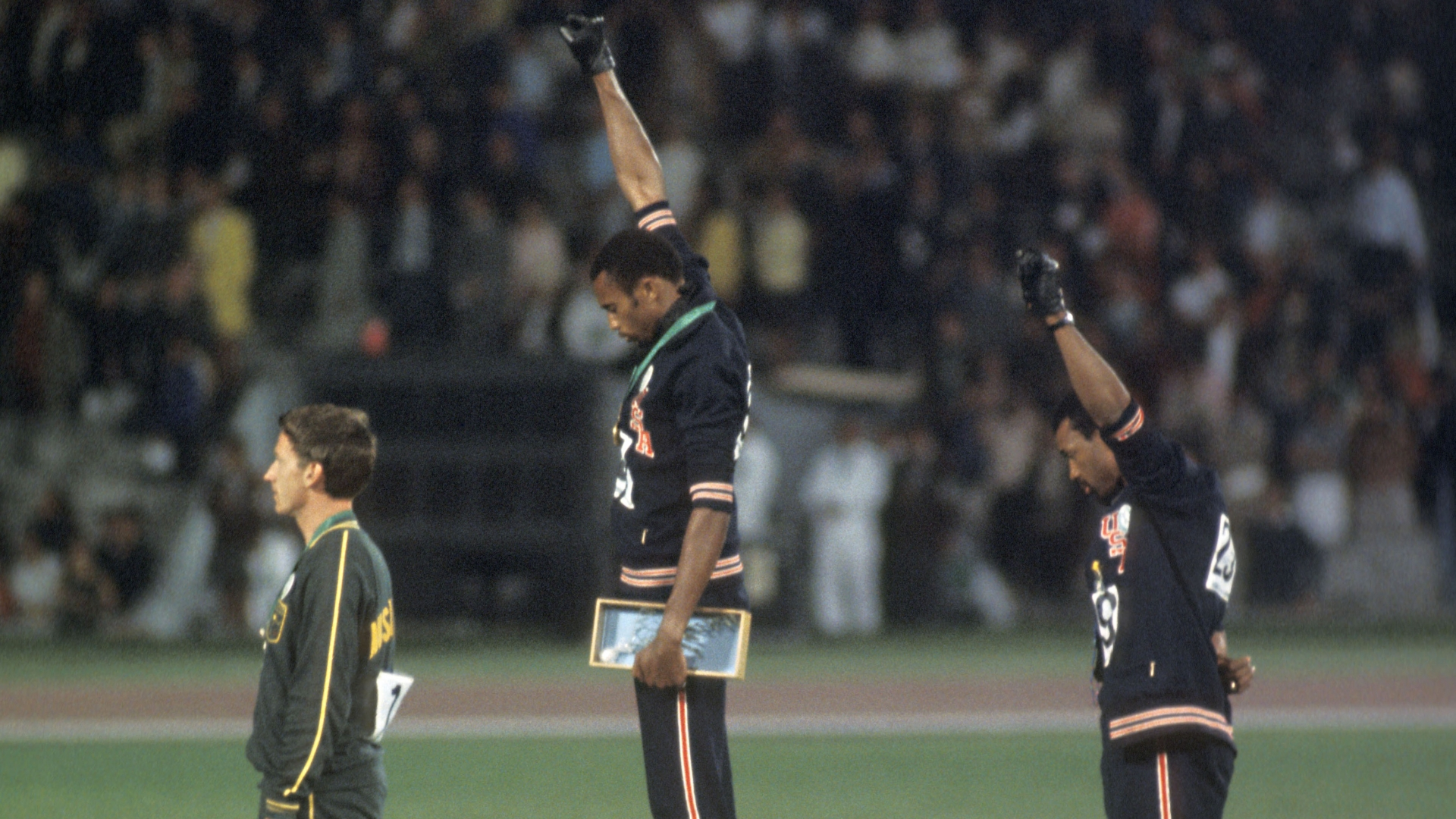the life and olympic career of tommie smith Tommie smith and john carlos carry the coffin of peter norman, who died in 2006.