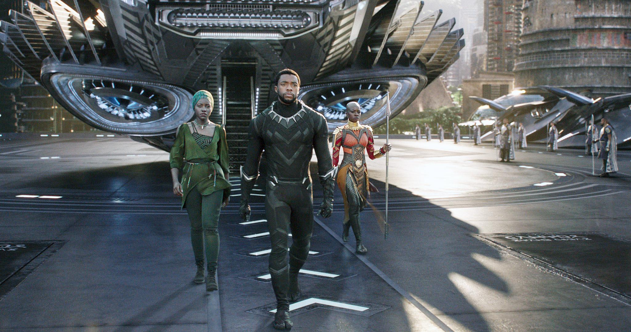 Black Panther. (Credit: Marvel/Walt Disney Studios Motion Pictures/Everett)