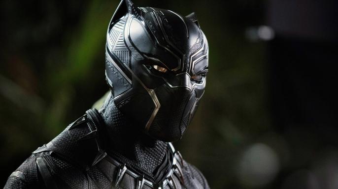 Chadwick Boseman as the Black Panther. (Credit: Marvel/Walt Disney Studios Motion Pictures/Everett)