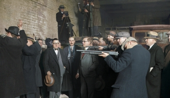 See the St. Valentine's Day Massacre of 1929—in Color