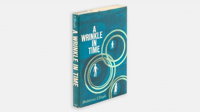 Madeleine L'Engle's A Wrinkle In Time, first edition. (Image courtesy of LiveAuctioneers.com & PBA Galleries)
