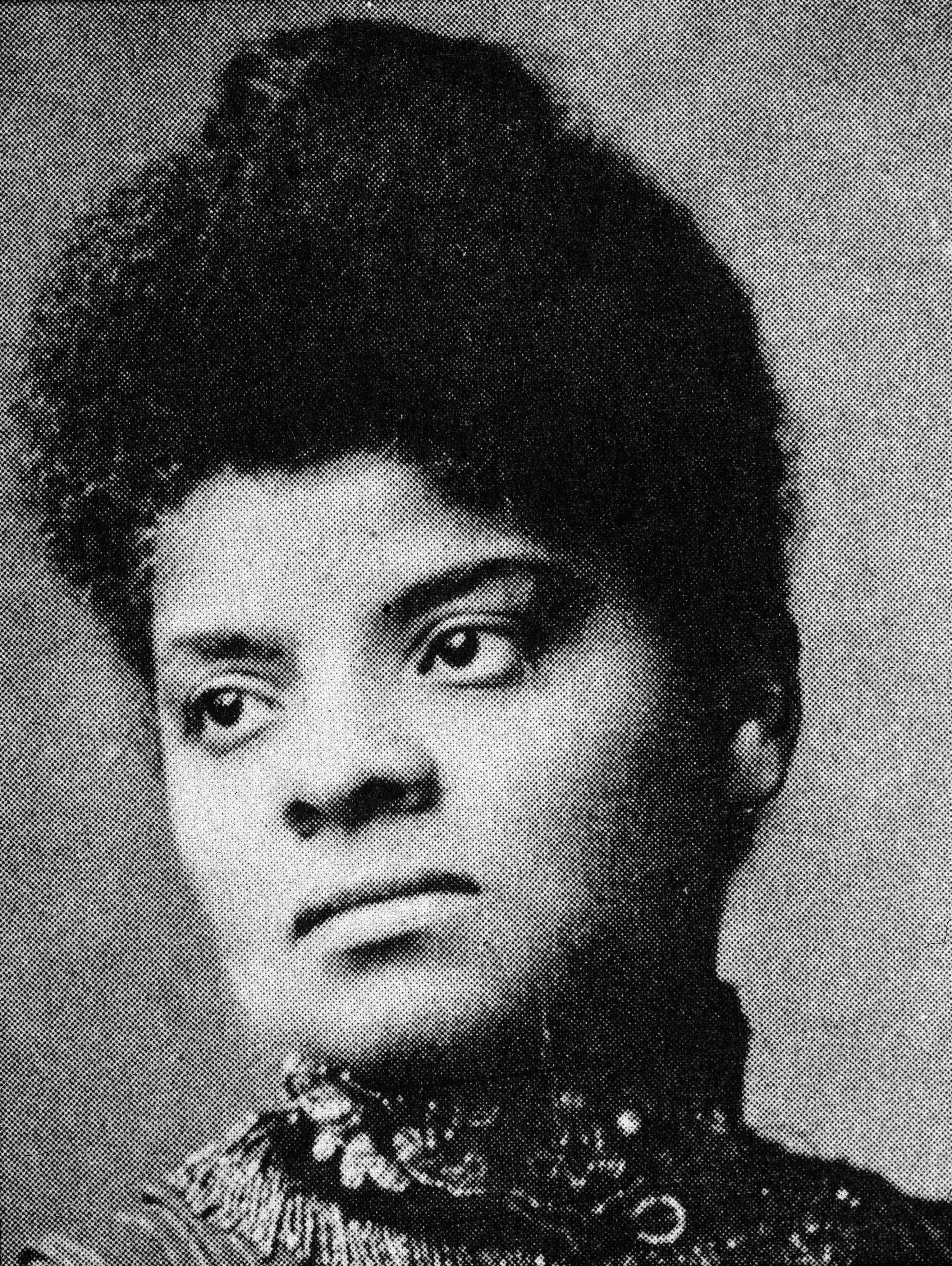 Portrait of American journalist, suffragist and progressive activist Ida B. Wells, circa 1890. (Credit: R. Gates/Hulton Archive/Getty Images)