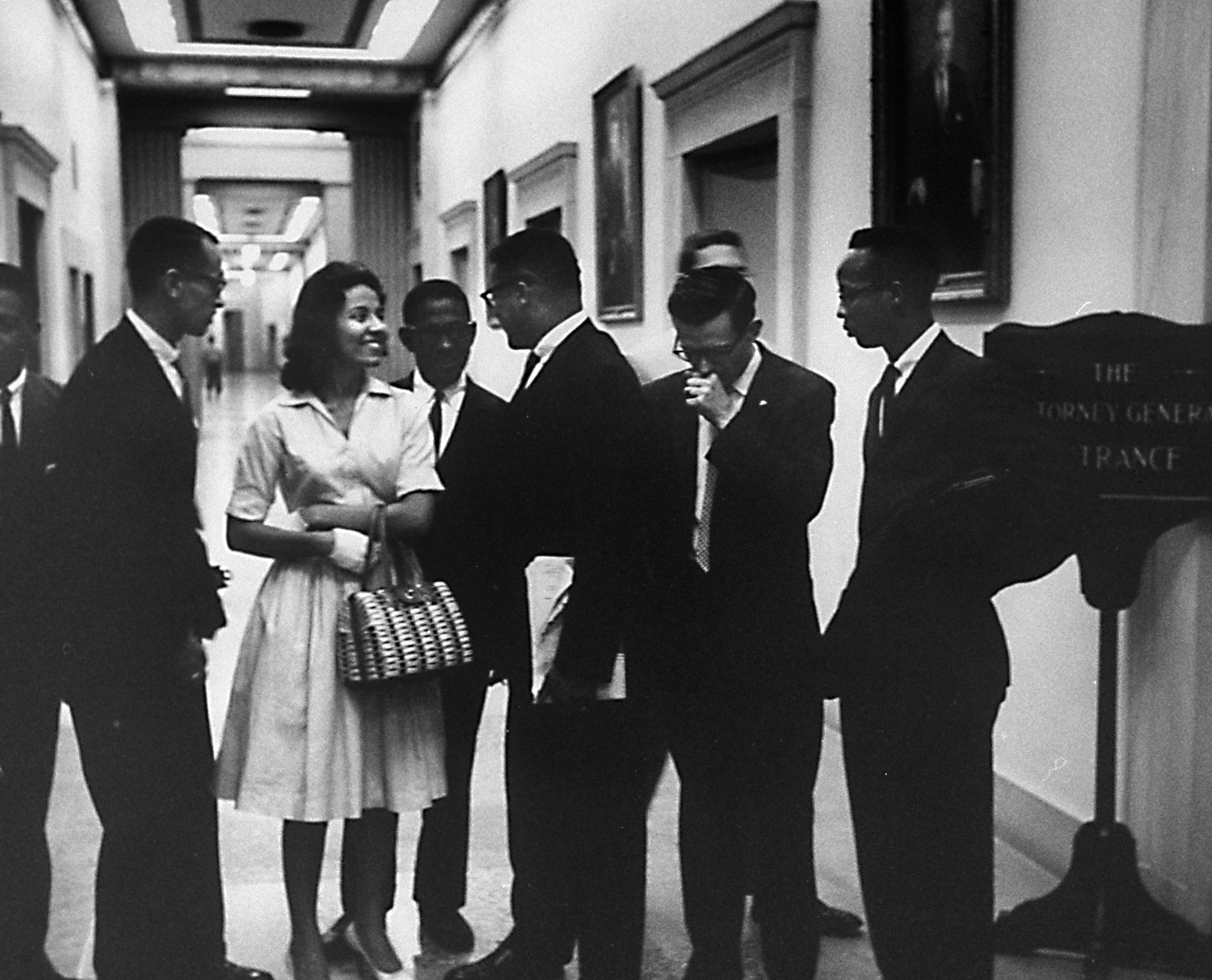 Diane Nash and other Freedom Riders. (Credit: Ed Clark/The LIFE Picture Collection/Getty Images)