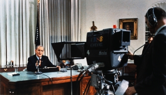 LBJ Announced He Wouldn't Run Again. Political Chaos Ensued
