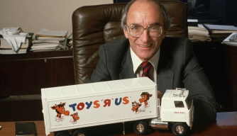 Charles Lazarus, founder of Toys R Us. (Credit: Jacques M. Chenet/CORBIS/Corbis via Getty Images)